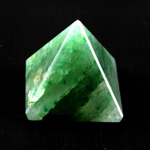 Picture of Amethyst Green Pyramid Stone