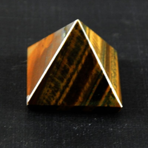Picture of Tiger Eye  Pyramid