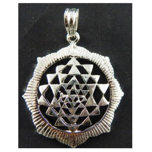 Picture of Sri yantra Metal Pendant