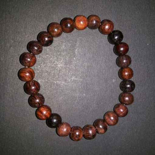 Picture of Rose Wood Beads Bracelet