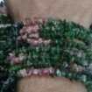 Picture of Green Tourmaline chips beads