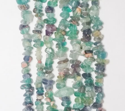 Picture of Multi Fluorite chips beads