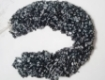 Picture of Snowflake Obsidian chips beads