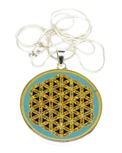 Picture of Sacred Geometry :  Flower Of Life Pendant