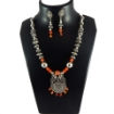 Picture of Gemstone Metal Beads Necklace