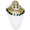 Picture of Gemstone Aventurine Tumble & metal Fancy beads Necklace