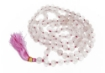 Picture of Rose Quartz Mala : 108+1 Beads Knotted Mala