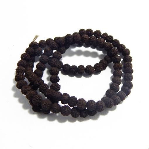 Rudraksha Beads 6mm Black