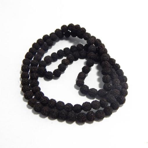 Black Rudraksha String 8mm